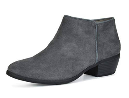 TEOTOS ZIPPER BOOTIES - DALLAS/GREY -