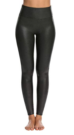 SPANX LEATHER LEGGINGS -