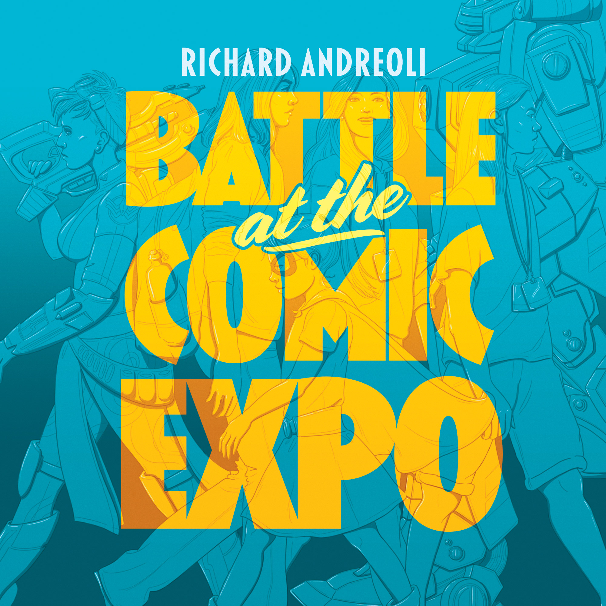 Battle at the Comic Expo square cover logo