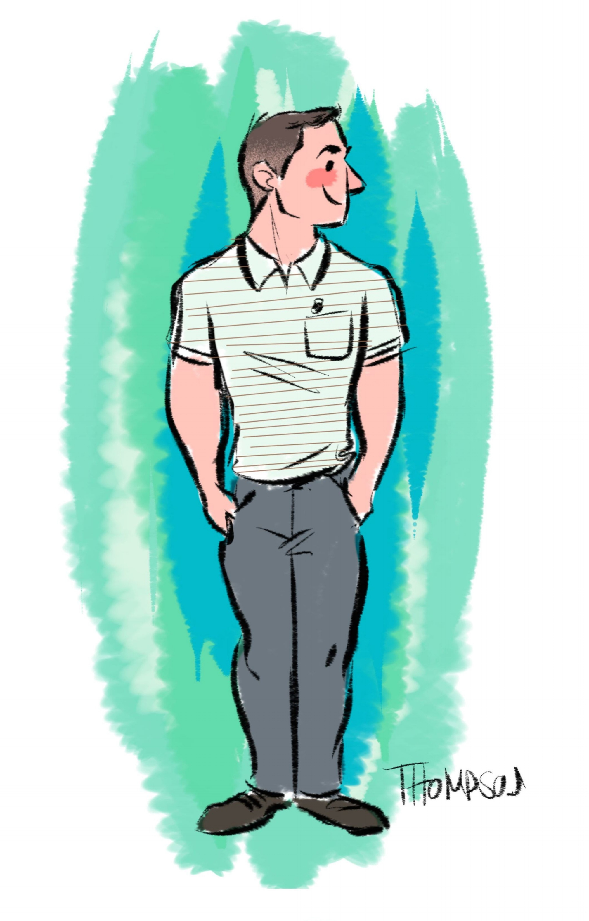 Illustration by  Steve Thompson