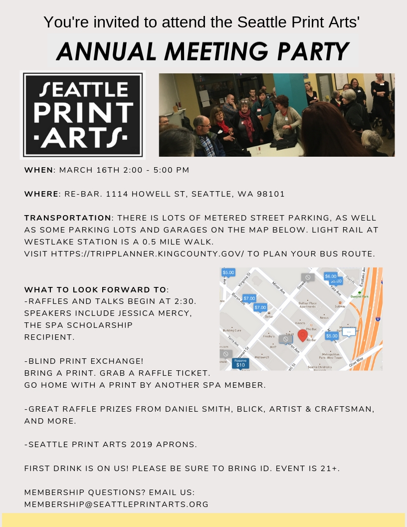 Events Seattle Print Arts