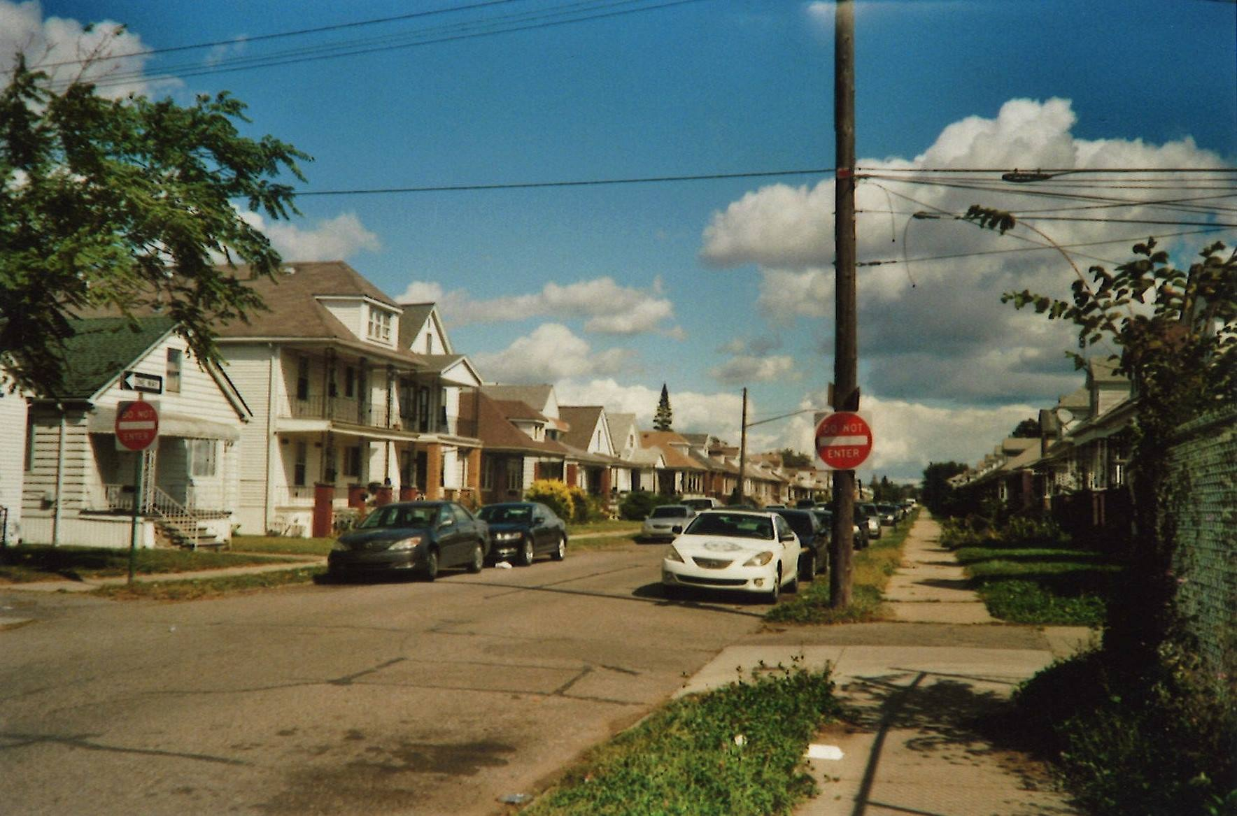 Street in Detroit where FILTER Detroit is located. //Photo by Valerie Ankenbrank