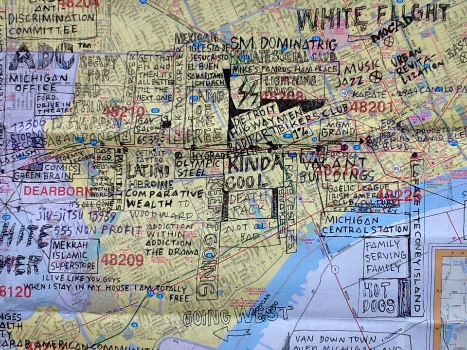 Inge Nabuurs and Erwin van Doorn mapping Michigan Avenue.jpeg