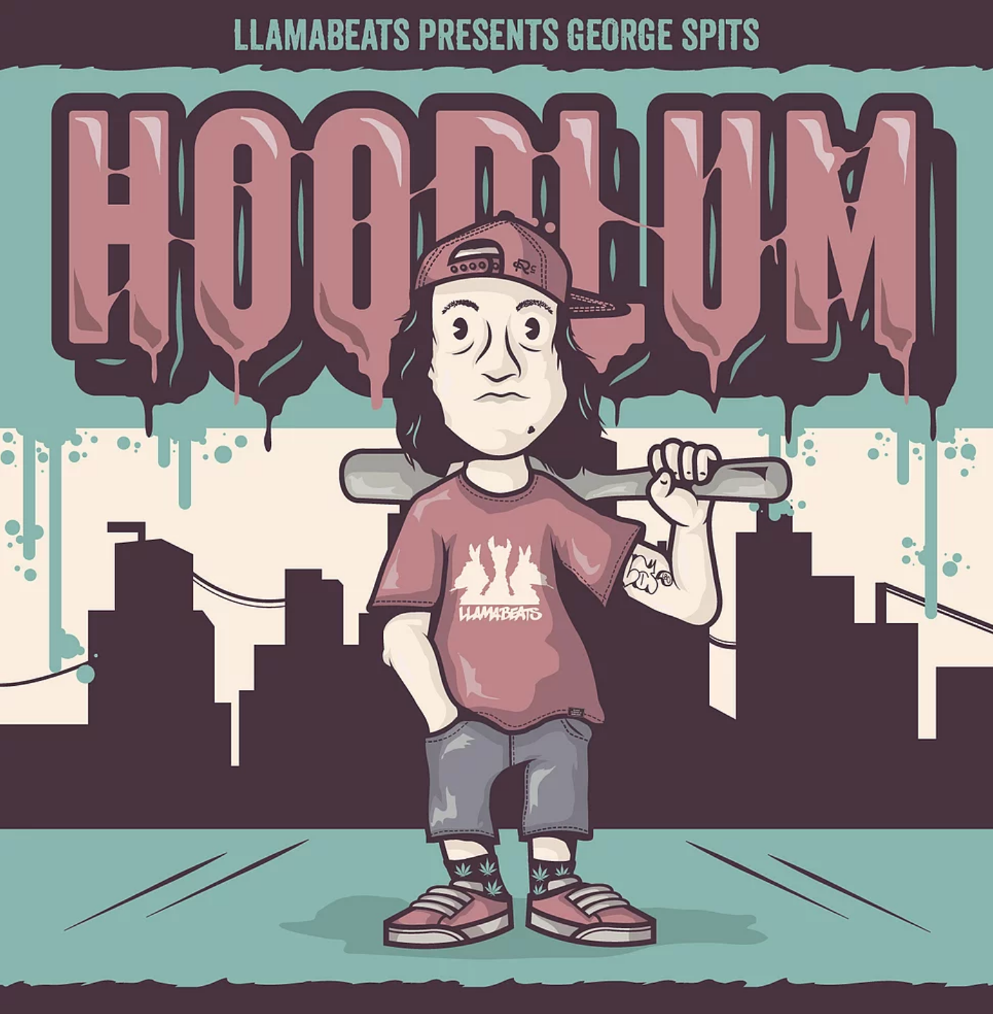 """""""Hoodlum"""" by George Spits of Llamabeats (2014) -  Stream & Download"""