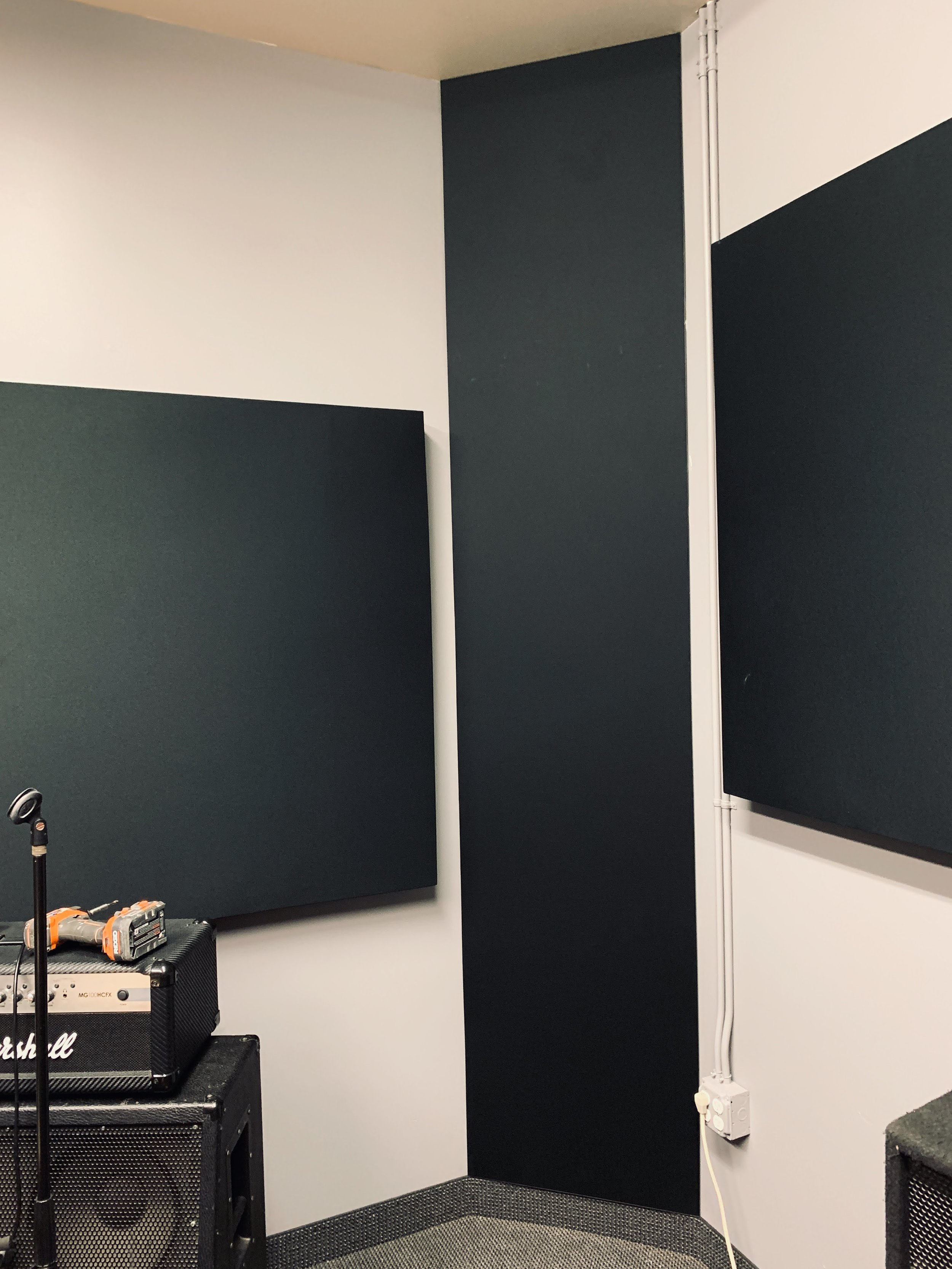 Floor-to-Ceiling Bass Traps