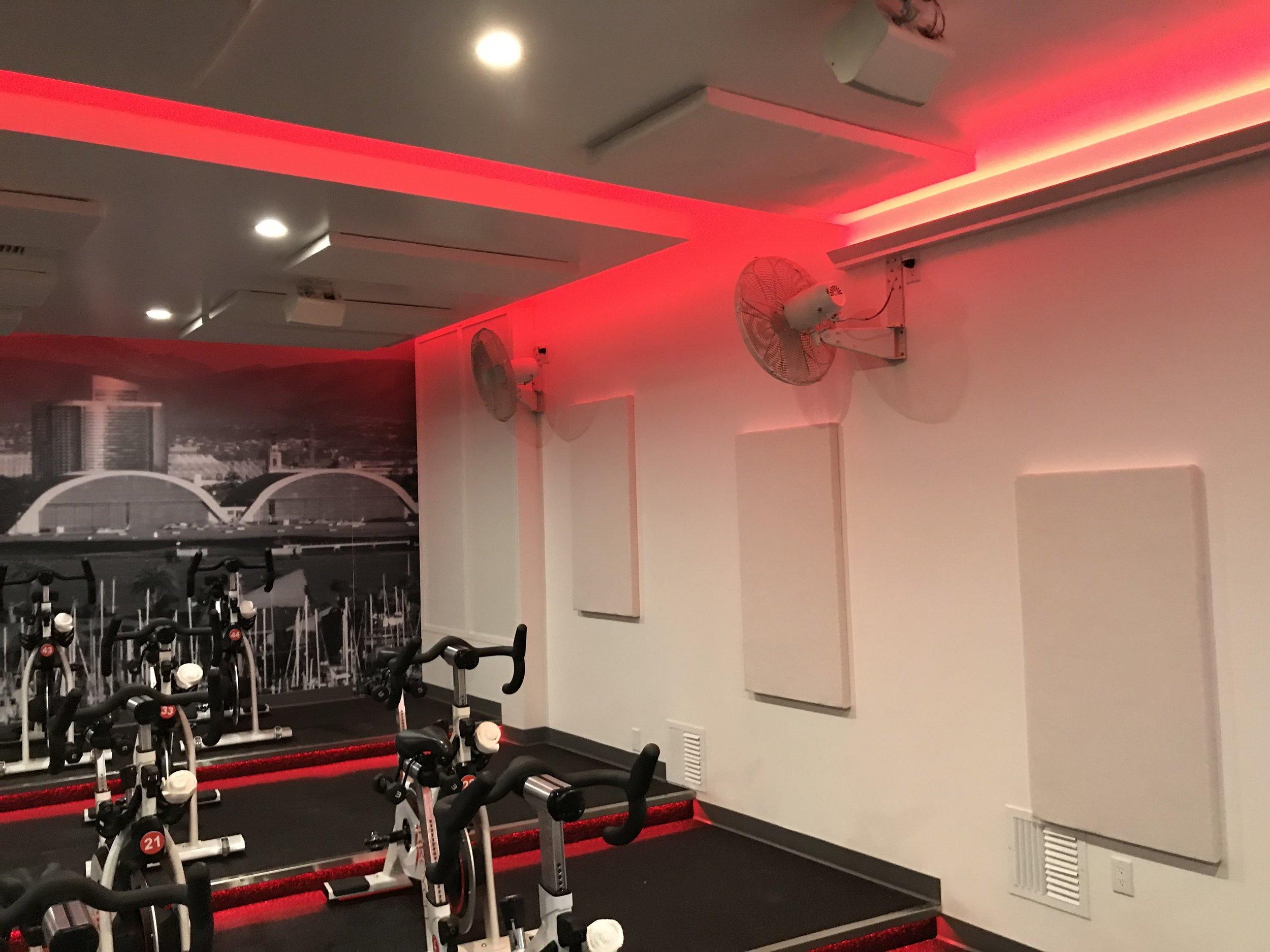 Gym Acoustic Treatment