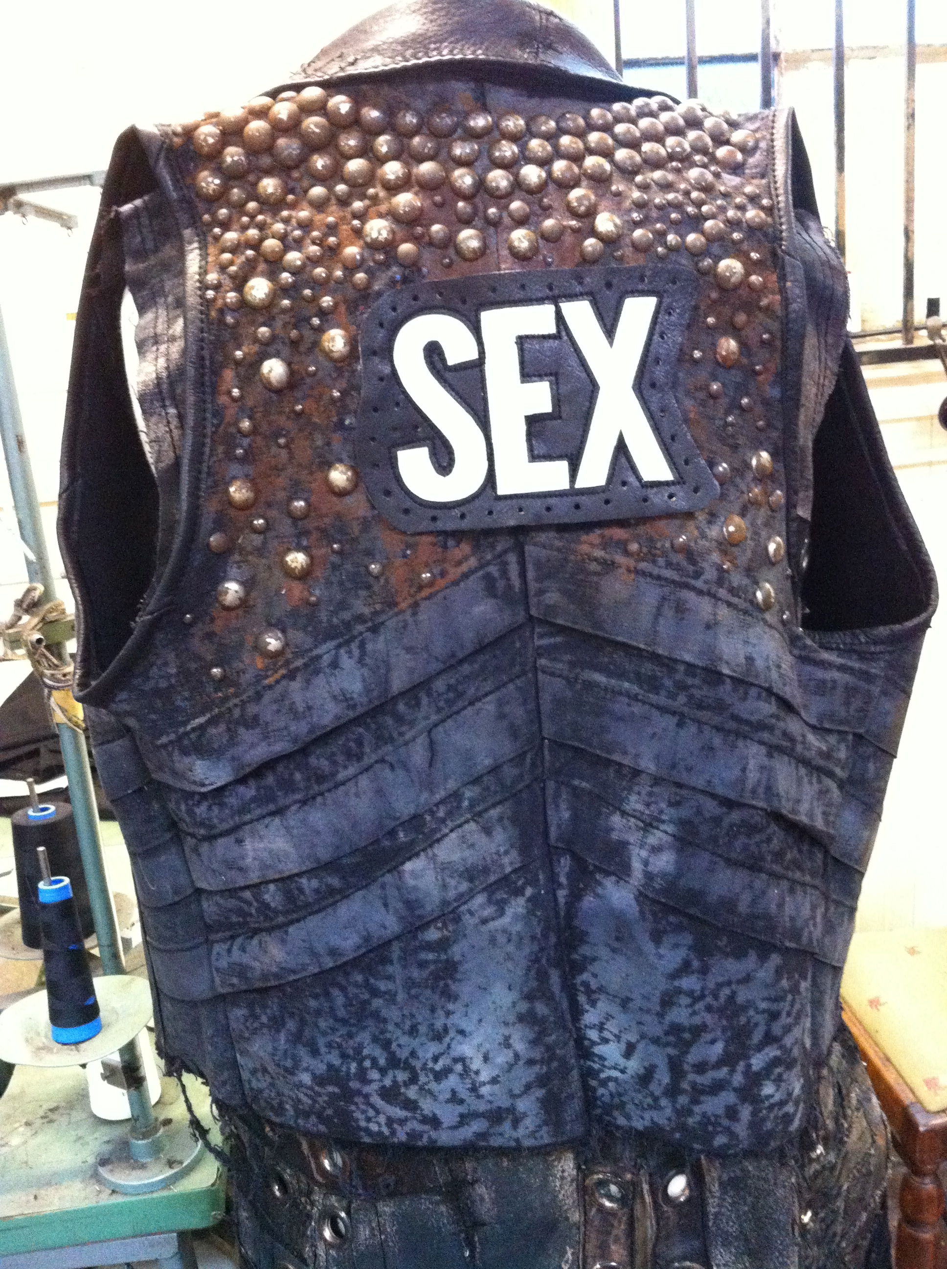 Vest for Nikki Stixx