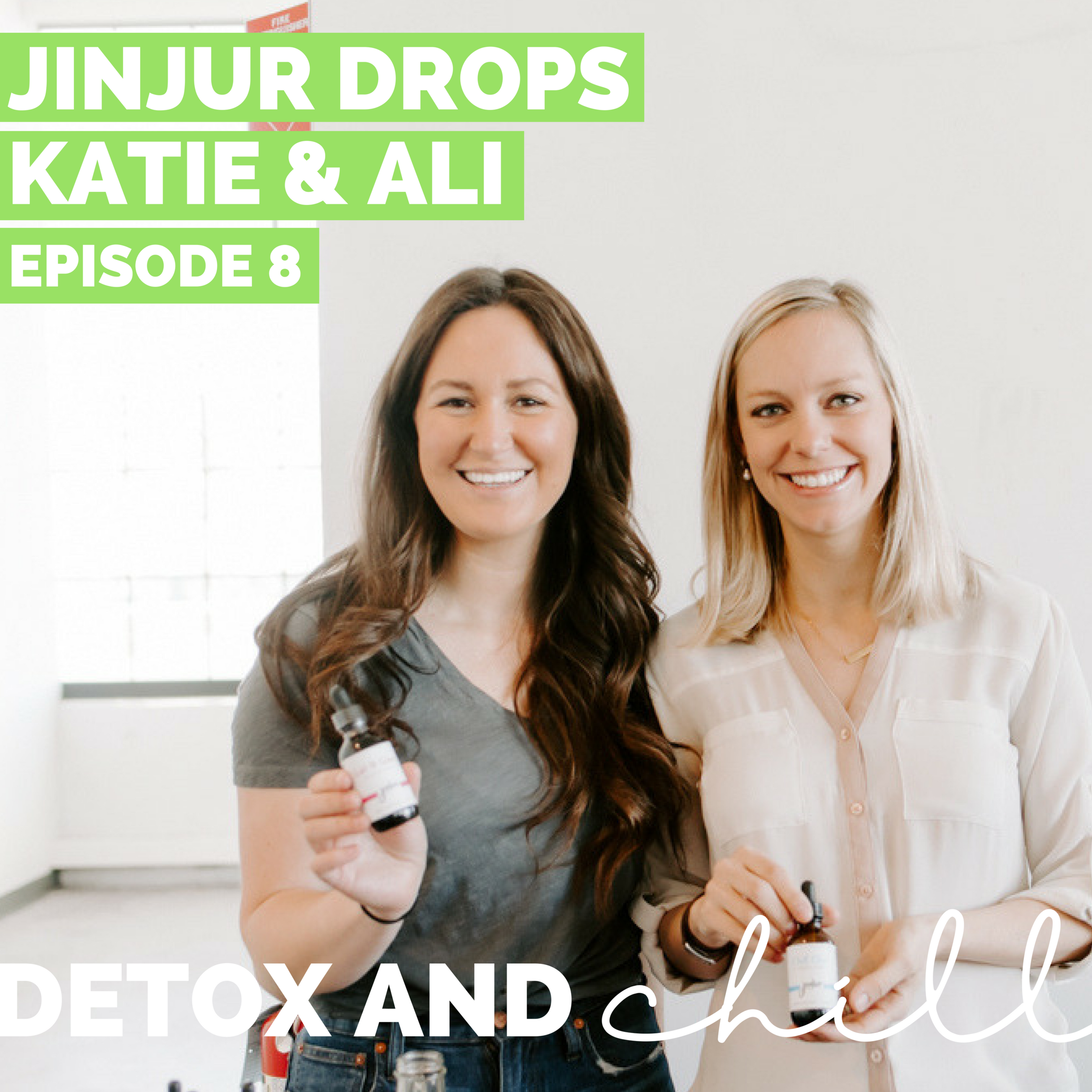 """Episode #8: Katie & Allie // Herbalists, Acupuncturists, & Entrepreneurs // Mastering Your Yin & Yang - Hello lovely listeners! Today we're back with Ali Vander Baan and Katie Pedrick from Yintuition Wellness and V.I.B.E Acupuncture respectively.On this episode, Katie and Ali share with us how their company, Jinjur, was born, how each of the unique blends works, their experience starting their own brand, as well as SO MANY Chinese Medicine facts that were so enlightening and informative, especially for those of us who haven't delved into the Eastern medicine world. We also talk a lot about time management – these ladies balance their careers with starting their new business (and even a new baby for Ali!) in a seamless and impressive way.Katie and Ali were so kind to offer our listeners 15% off of any purchase of Jinjur drops by using the code """"DETOX"""" at checkout.Here's the link to Jinjur shop to check out all of their amazing blends: https://jinjurshop.com.Katie's Practice: https://www.vibecharlestown.comAli's Practice: https://www.yintuitionwellness.com/"""