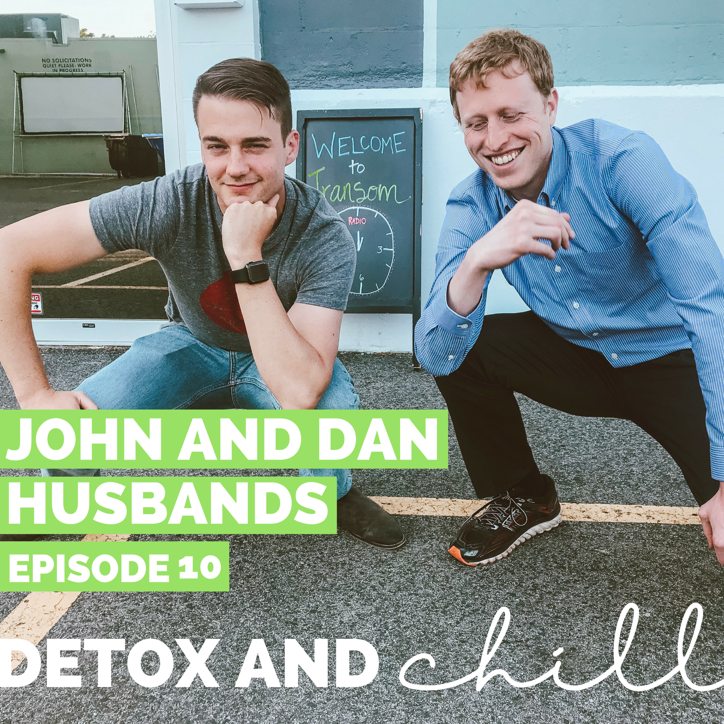 Episode #10: John & Dan // Husbands of the Detox & Chill Podcast // Love Stories & Budget Thursdays   - This episode is brought to you by our amazing...husbands. We are so grateful that these busy guys took the time to record an episode with us, and we get into the NITTY GRITTY of how we first met, knew we had found *the one*, and our first dates (awww).We also talk about some more detailed/private marriage topics like budgeting, finances, dividing chores, and even how to divide holidays. We get honest and real - sometimes certain things ARE a struggle, but that's why you work through them as a team!We had so much fun with this one, and even got a sneak peak into what these guys eat on a daily basis (and spoiler alert - Dan's list is LONG).  We hope you enjoy - and stay tuned for the next couple months when we hand the reins over to interview US.HAPPY MONDAY FAM!Xoxo,Meg & Beck