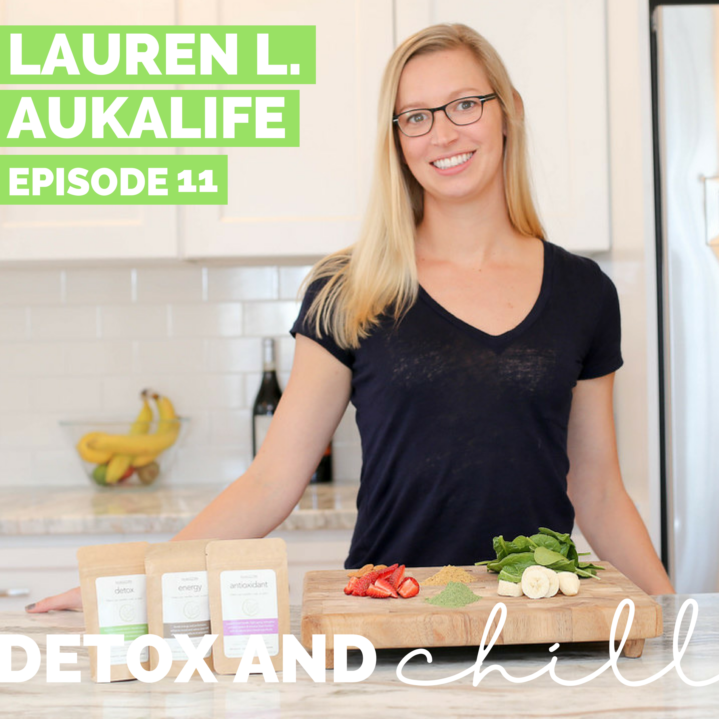 Episode #11: Lauren Lampert // Founder & CEO of AukaLife // How to Balance a Full-Time Job & A Successful Side Hustle  - HAPPY FRIDAY!! You  may be thinking...WAIT...you usually release episodes on Mondays. WELL, we are going ALL out in August, and releasing *two* episodes per week.  We are so excited to share even more content with you all, with all of the amazing peeps we've had the honor of interviewing. Including, the lovely Lauren from AukaLife.If you haven't heard of AukaLife, it is an amazing company that provides custom and personalized superfood blends to enhance your diet and promote healthy living. We don't know about you guys, but we get overwhelmed sometimes with allllll the products available to put into you morning smoothie.  Lauren takes the guesswork completely out of the equation, and does all the blending/combining work for you.In this episode we talk about....-How Lauren balances her full-time job in advertising, while running her business and HANDMAKING all of her products on the side #superwoman;-How she came up with the name for her brand;-How she manages to practice self-care in the midst of everything;-How she manages finances while running her business;And SO much more! Lauren was so generous to offer D&C listeners 20% off of her products using code DETOXCHILL20 at checkout.Link to Aukalife: http://www.aukalife.com/Instagram: @aukalifeFacebook: AukalifeWe both *love* the detox blend and throw it into our smoothies most mornings.  Sometimes we mix the energy blend into oatmeal for a satiating and warming breakfast.If you check it out, let us know!!Xoxo,Meg & Beck