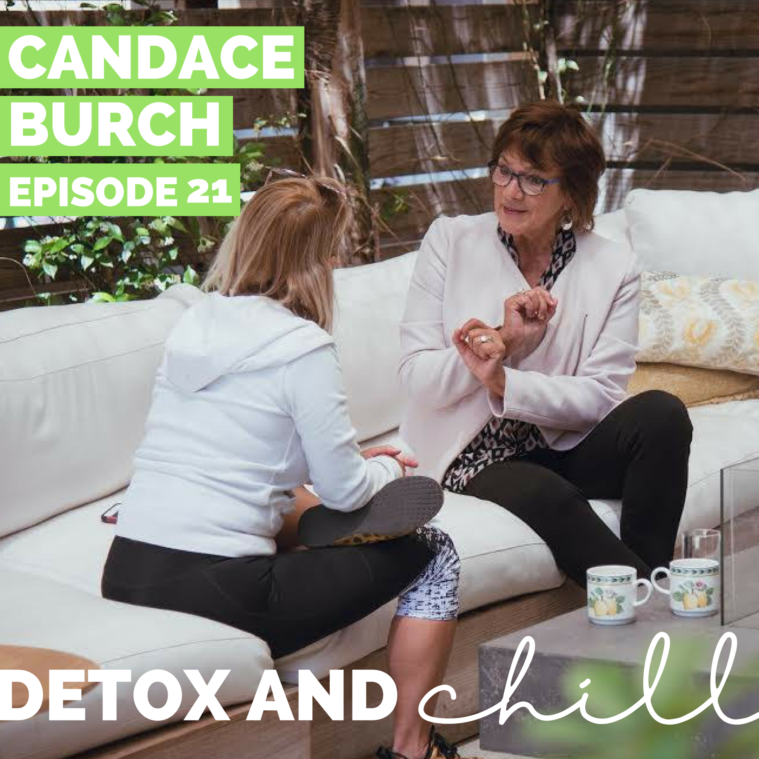 Episode #21: Candace Burch // Hormone Expert // What's Really Going On In Your Body & Why You Might Want to Toss Your Birth Control - Today we're back with a really really special episode. Candace Burch is the a Hormone Health educator that reconnected Beck and Meg (whether she knew it or not), sparked their passion for wellness, and inspired them to start their own wellness and lifestyle podcast.We were so lucky to sit down with Candace in person, as she just so happened to be in Boston for a week. She was just as amazing in person as all of the incredible podcasts that she has been featured on.Candace's work with hormonal health involves being a public speaker, hormone health educator, and private consultant, and counseling countless women and men on all things hormonal.Her goal is to help people re-balance their hormones to relieve symptoms and restore balance in their lives. In her own life, she practices what she preaches as often as possible and maintains balance by doing what comes naturally, deliberately.In this episode we talking about…-What our different hormones are and what their purpose is;-What symptoms you might experience if your hormones are out of balance;-Beck and Meg share their own personal hormone stories and struggles;-What testing your hormones entails, and what it can tell you;-How Candace interprets the results of your hormone testing;-Birth control and how to prepare your body to come off of birth control (if you desire);-Some of her favorite supplements and tips to get your period back after coming off of birth control.We've heard Candace speak so many times, but we ALWAYS learn something new and different each time we connect. Candace was beyond generous to share TWO discount codes with our listeners for $50 off the Hormone Jumpstart (DETOXANDCHILL) or Gold Standard Package; and $100 off of the Hormone & Weight Balance Package (DETOXANDCHILL2). Testing your hormones is SO important if you're not feeling your best, and we're so grateful Candace is giving us and our listeners this amazing discount!We cannot WAIT for you guys to hear this episode and would love to know what you think. Hit us up on Instagram (@detoxandchillpodcast), our new Facebook group (*SUPER EXCLUSIVE* Detox & Chill Podcast Group), and via email. We LOVE hearing from you guys! Don't forget to rate and review and subscribe on iTunes!Love you all,Meg & BeckFind Candace here:Candace: http://www.yourhormonebalance.comInstagram: https://www.instagram.com/yourhormonebalance/