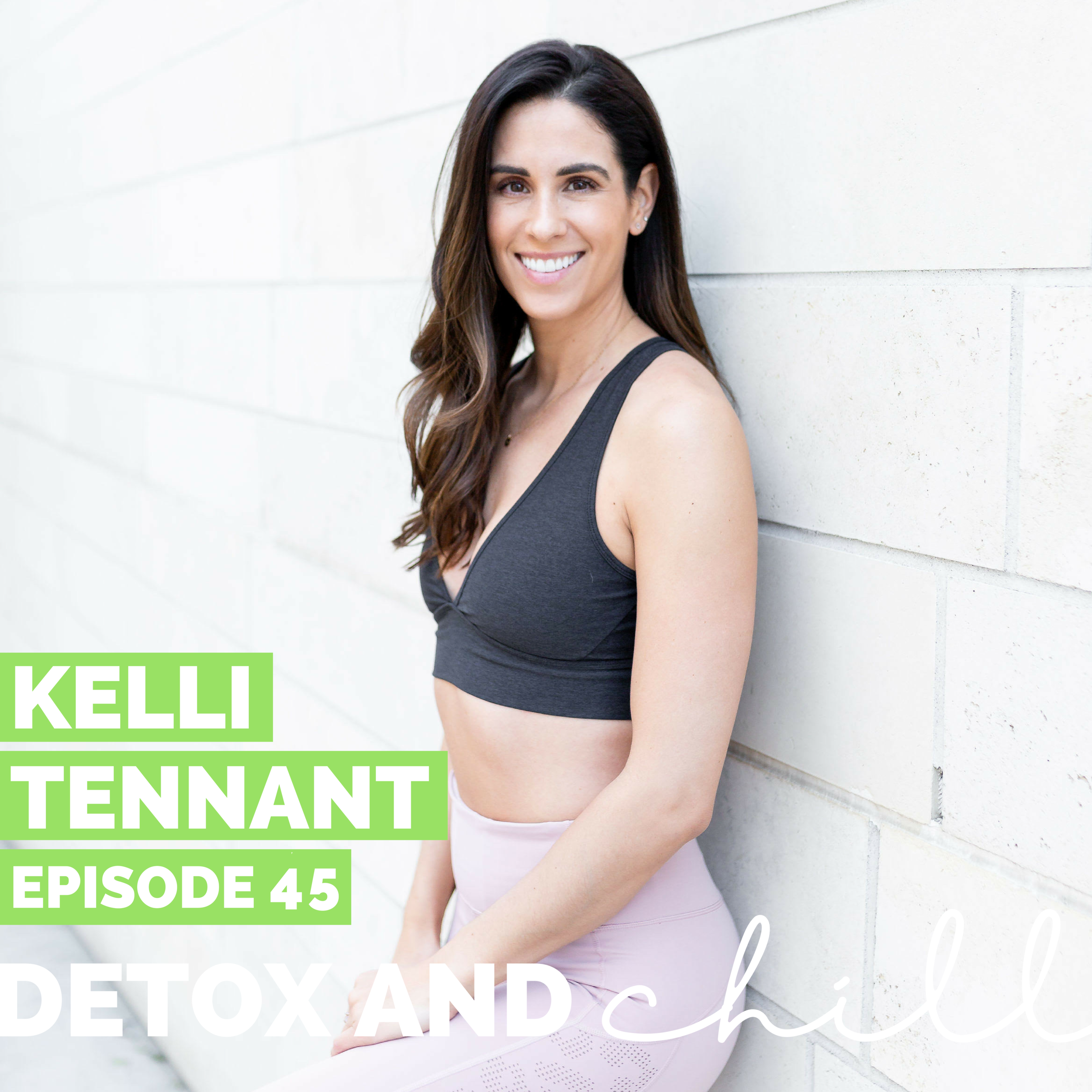 "Episode #45: Kelli Tennant // Founder of The Platform // Choosing Yourself - Hi lovely friends! First things first, we want you all to come to our gut-health event on April 4th! We will be diving in with Charity Lighten, who is the CEO and Chief Nutritionist at Silver Fern. We'll start with an amazing Core Power workout, followed by a panel on gut-health and wrapping up with dinner from Dig-Inn. Sign up at the following link!https://www.eventbrite.com/e/go-with-your-gut-detox-chill-x-silver-fern-brand-tickets-57892653485This week we have an absolutely AMAZING guest on the podcast. Kelli Tennant is a former TV host for the Lakers and Dodgers. Kelli recently launched her OWN podcast, The Platform Podcast, to have critical conversations that dive deep into the harsh realities of chronic illness, the inspiring stories of entrepreneurs and the powerful women supporting women movement.In 2007, Kelli was diagnosed with multiple autoimmune disorders, which led her to the discovery of a non-toxic, holistic lifestyle. As her own advocate for over 10 years battling countless illnesses, she has become one of the leading voices in the health and wellness community, educating women on the latest healing modalities, ways to clean up their daily routine, and how to support and empower other women.We dive deep in this episode and chat about…-Managing a chronic illness while working full time,-Letting go of the ""people pleasing"" mindset and doing what is best for YOU,-Being a woman in a primarily male-dominated field,-How time off of work shaped her mindset,-How we can best support other women in our fields.We'll both definitely be listening to this one back – it was that good.Follow Kelli on Instagram here, her podcast here, and her website here.We are so proud and excited about this episode and are so excited to hear what you think - let's start normalizing these conversations together. We'd love to continue this conversation in our Facebook group and on Instagram. Our Facebook group is a safe space for anyone who joins, so don't forget to check us out there. Just search *SUPER EXLUSIVE* Detox & Chill Podcast Group. As always, don't forget to follow along with us on Instagram (@detoxandchillpodcast) and join our Facebook group. We love you!Xoxo,Meg & Beck"