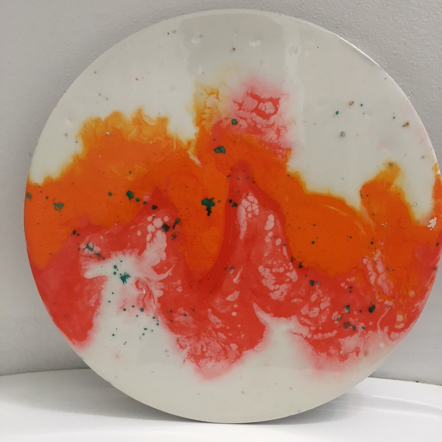 """Mia Paige  """"Resolution Of Conflict""""   12"""" Round   $600"""
