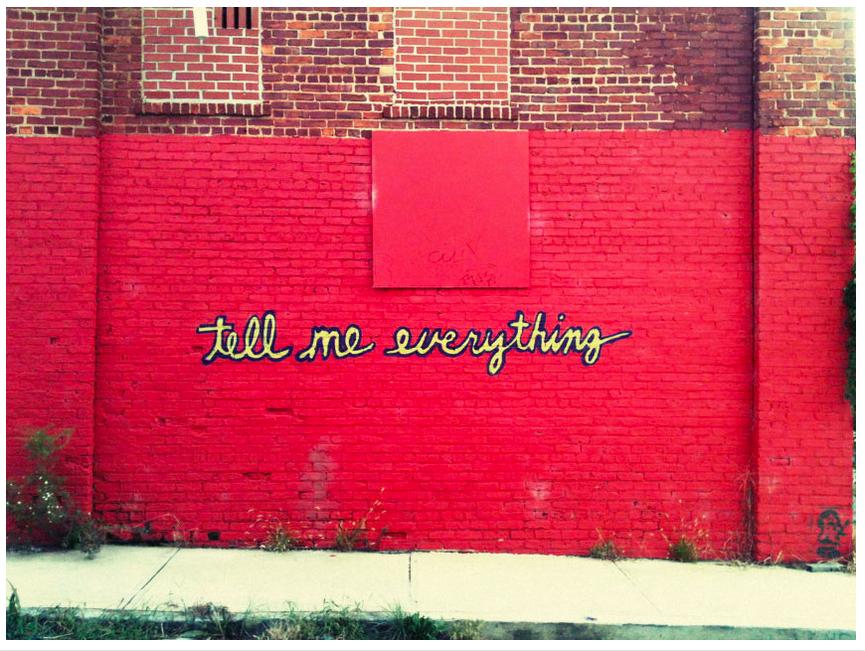 "Christy Lin  Graffiti Mural Photography   9"" x 11""   $100"
