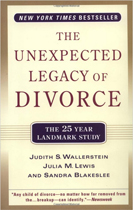 The Unexpected Legacy of Divorce - by Judith S. Wallerstein, Julia M. Lewis, and Sandra BlakesleeNo, Johnny may not be alright. Certainly many children seem to do just fine with the divorce of their parents, but statistically the best gift you can give your children is a stable two-parent home, even if it isn't perfect. No couple with children should ever divorce until they have thoroughly studied this book and have carefully considered all ramifications of their actions now and in the future. Perhaps they will conclude that a Clearing Marriage Intensive Retreat is certainly worth the time and effort.