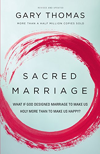 Sacred Marriage: What if God Designed Marriage to Make Us Holy More Than to Make Us Happy - by Gary ThomasHappy is good. Holy is better. Sacred Marriage reveals how marriage trains us to love God and others well, how it exposes sin and makes us more aware of God's presence, how good marriages foster good prayer, how married sex feeds the spiritual life, and more.