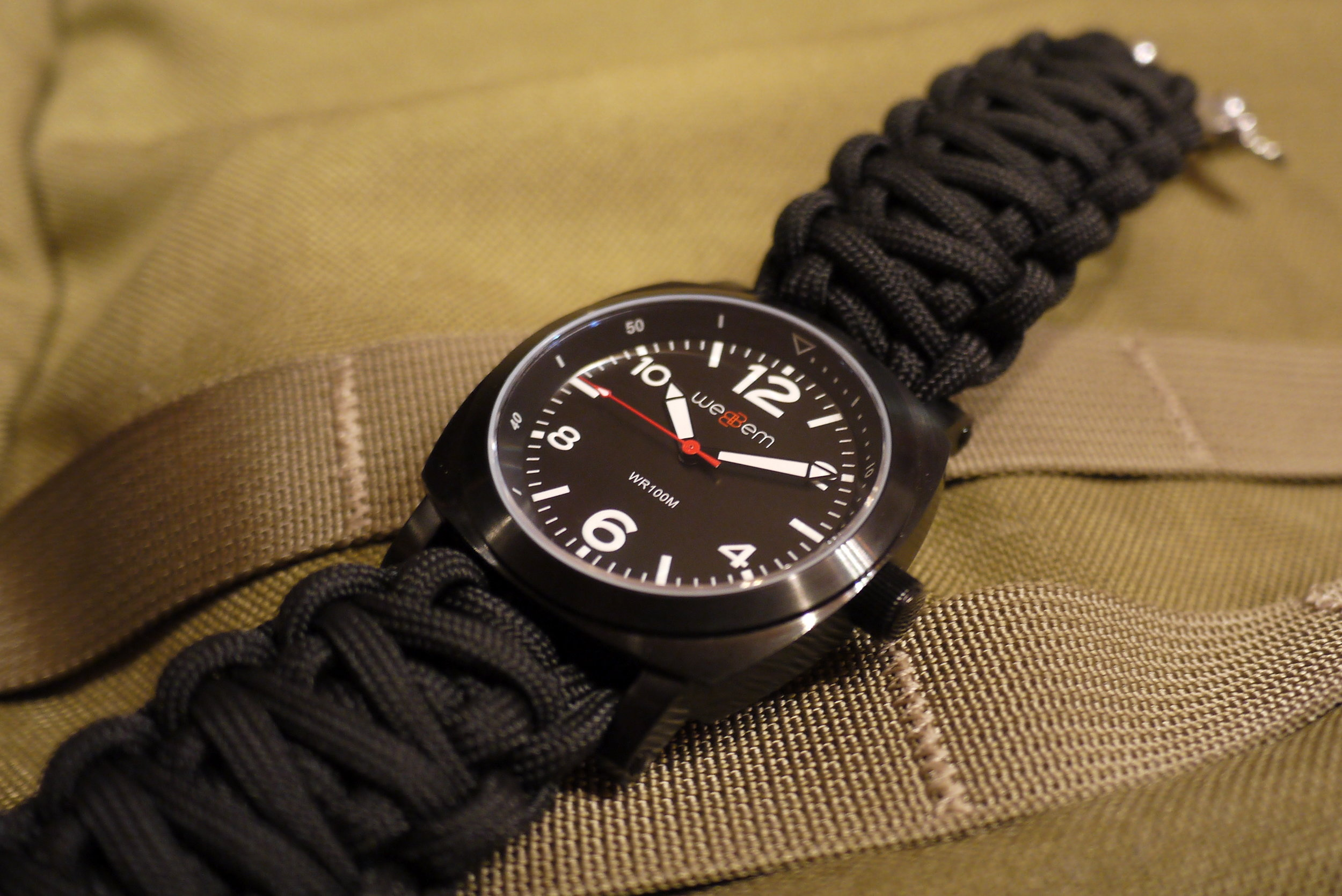 weBBem Traveler - Analog Outdoor Watch