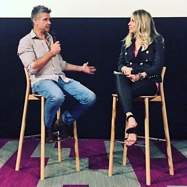 Hosting a Q & A with Matt Nable at an exclusive screening of his new film 1% at The Dendy.