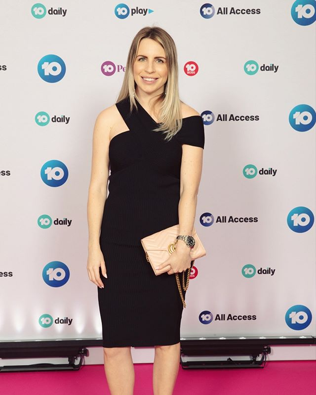 Last week at Network 10 Upfronts for 2019. Love a pink carpet!