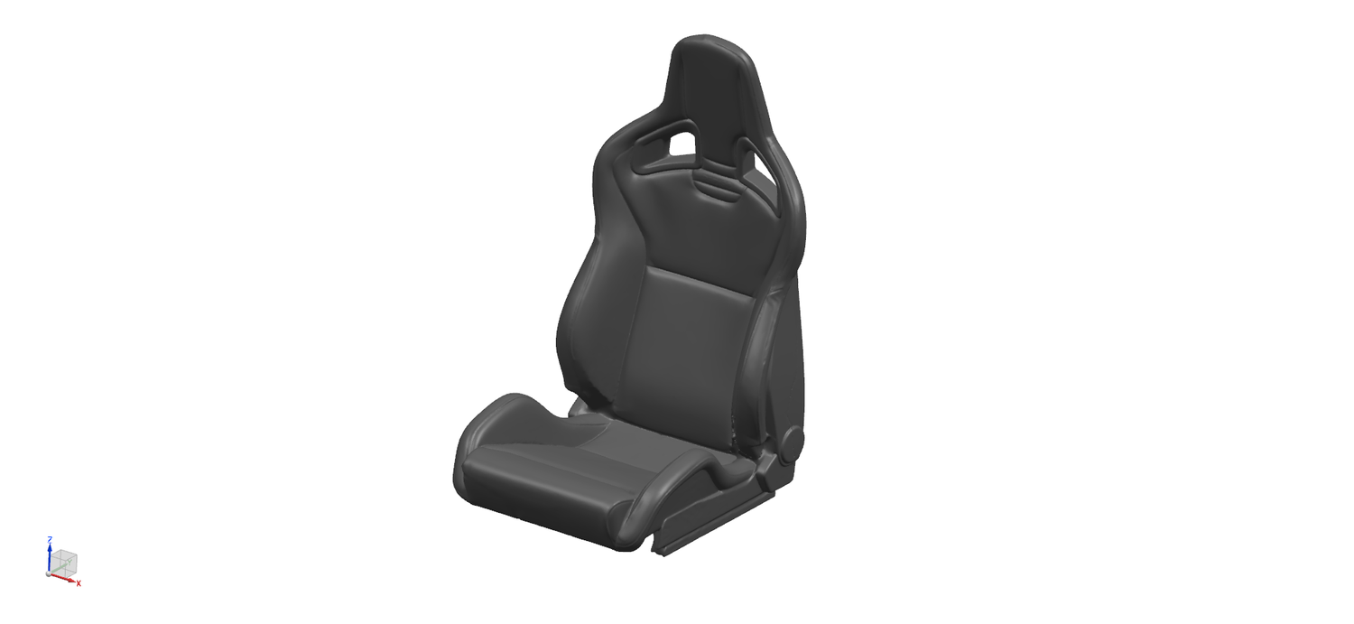 Recaro Sportster Cs Seat Bremar Automotion 3d Scan Store