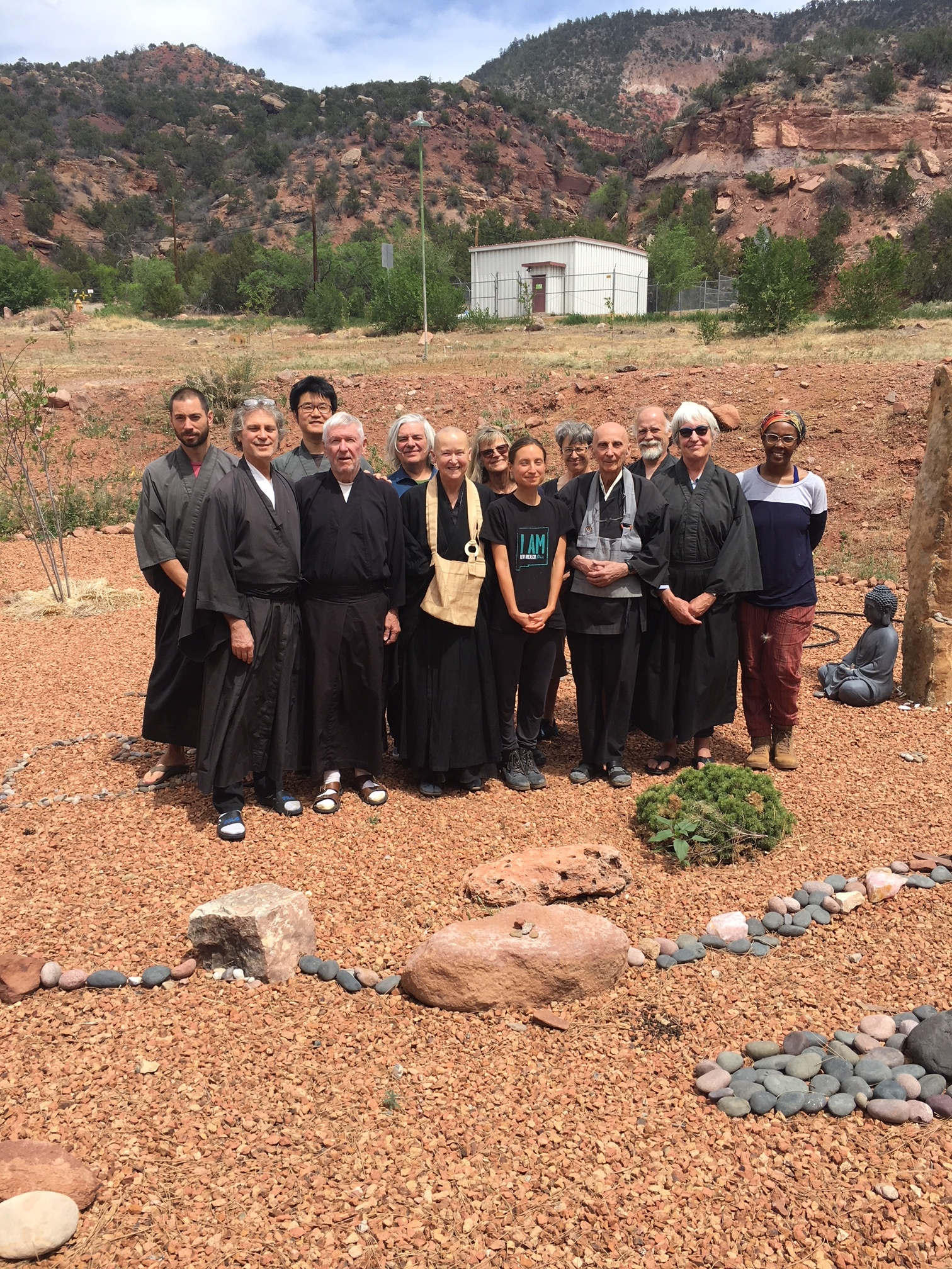 Thanks to all those who participated in the May Sesshin!