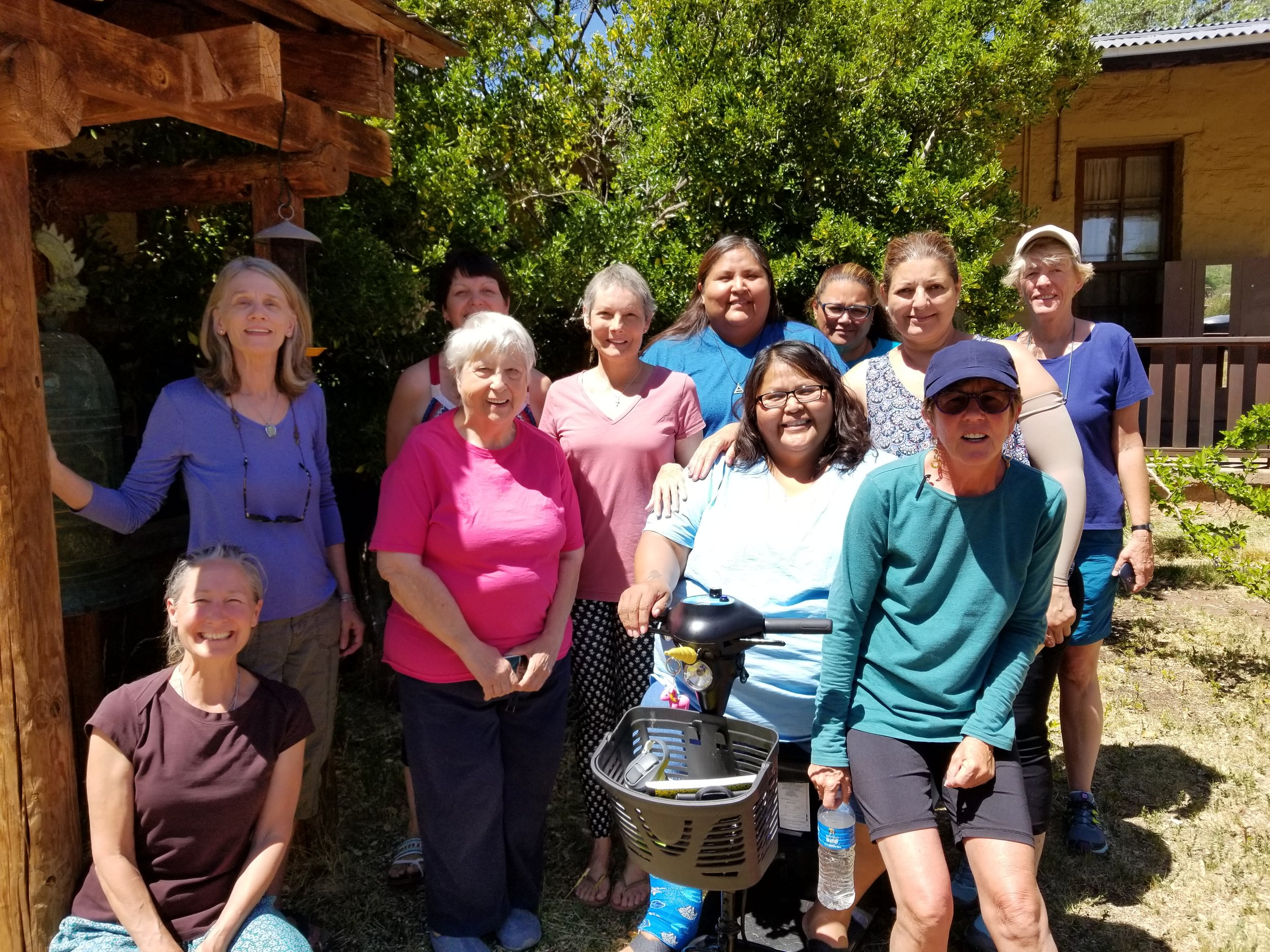 Holding Courage retreat offers support to women with a cancer diagnosis