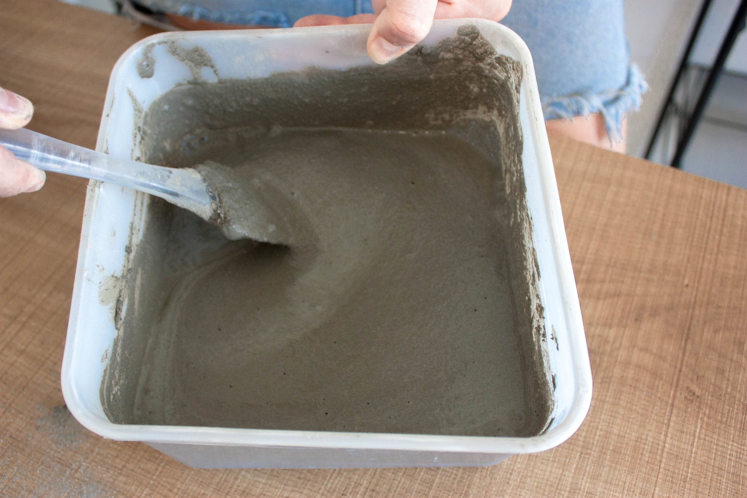 1. Cement consistency -