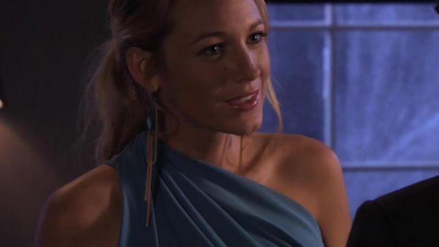 Serena Van Der Woodsen Inspired Drop Earrings Kitty Gang DIY