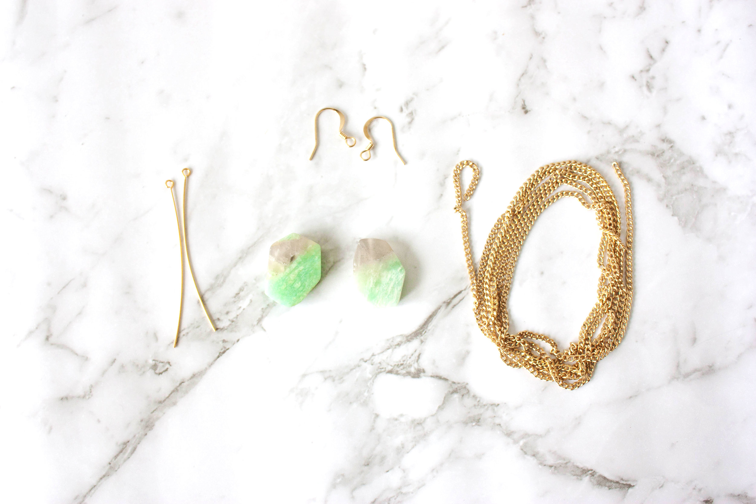 Serena Van Der Woodsen Inspired Earrings - Supplies - Kitty Gang