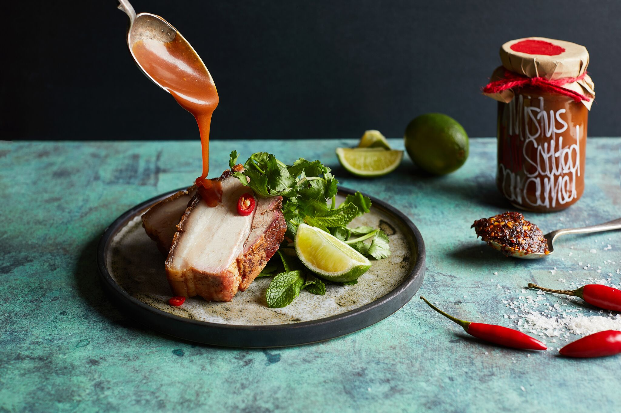 Crispy Pork Belly - Misty's Salted Caramel