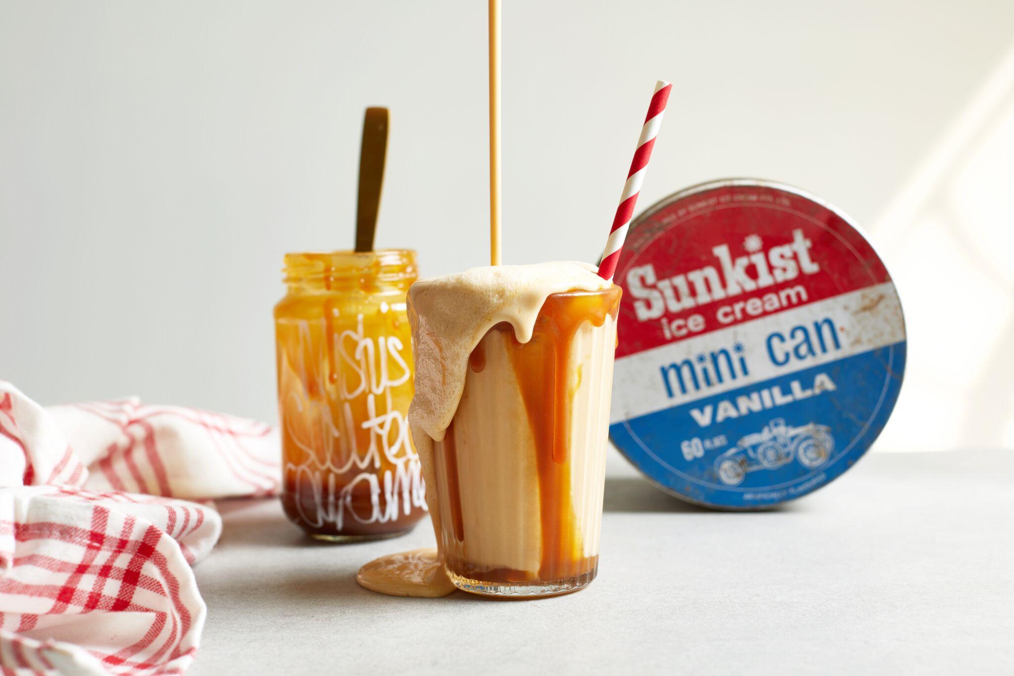 Misty's Salted Caramel - Milkshake