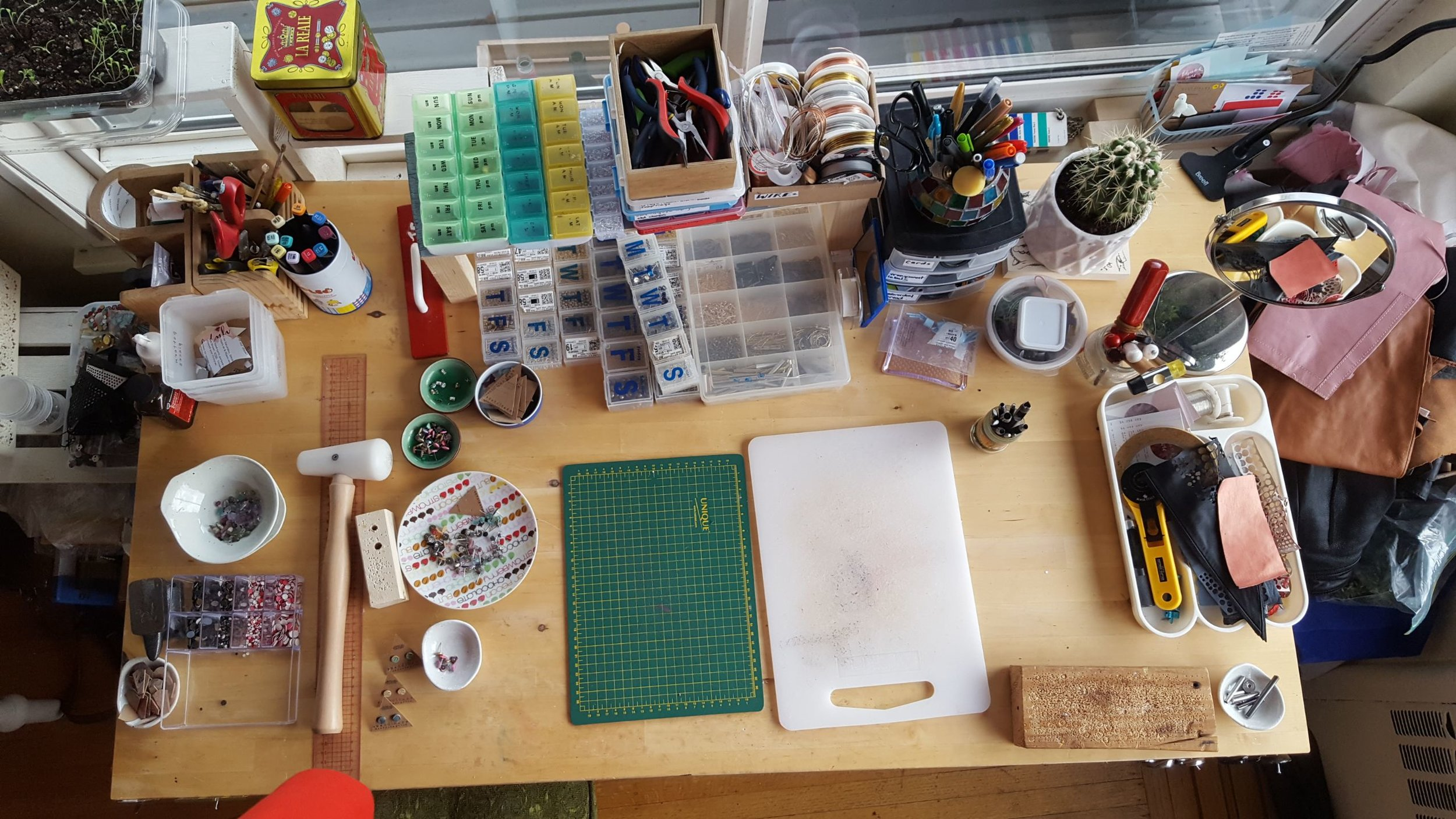Desk Flatlay