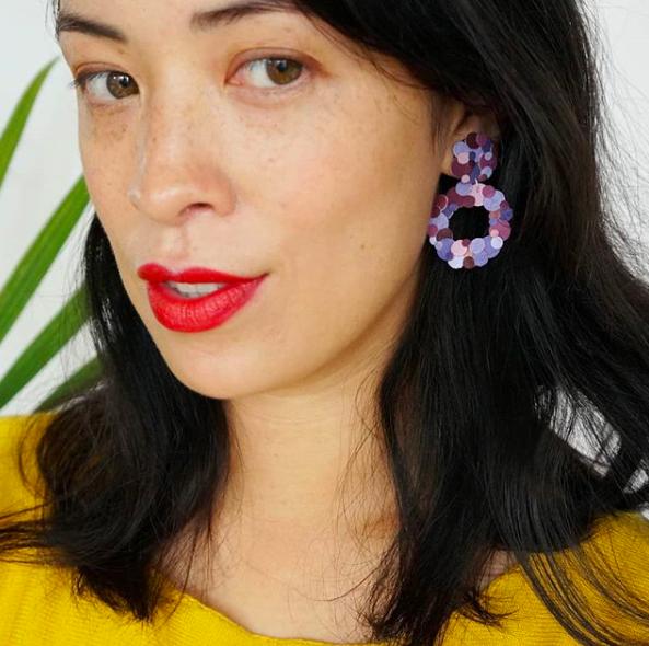 Jamie hoop earrings