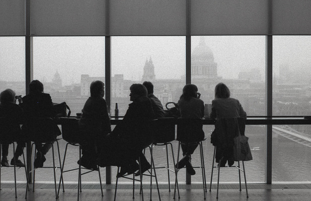 Cafe at Tate Modern. London   AS©2014