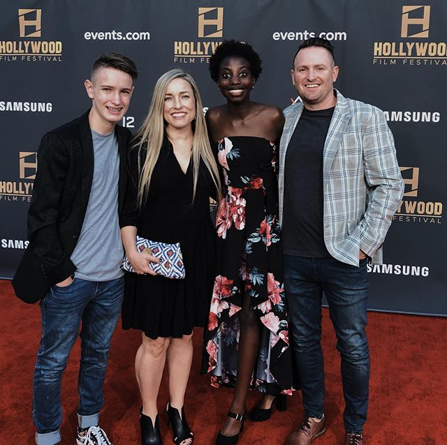 Thank you @hollywoodfilmfestival for having us this weekend! We had an absolute blast walking the red carpet, eating great food, and watching some fantastic films.