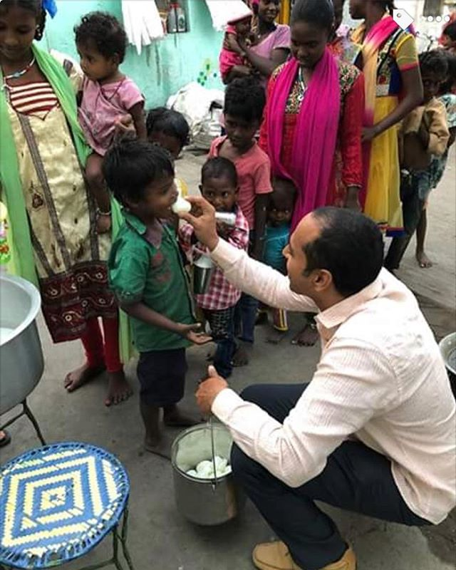 Our Nutrition Program at Berachah in India, bringing protein to poor villages so children can learn better.