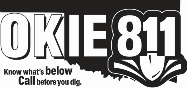 OKIE811-BLACK AND WHITE with text Bitmap Version.png