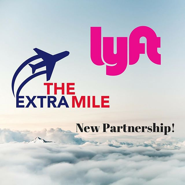 @lyft has graciously partnered with The Extra Mile Foundation to enable our veteran supporting events. Through their UpLyft Veterans program, Lyft has pledged rides to and from various airports for all our veterans including those requiring special accommodations. Thank you so much, Lyft! Looking forward to the future.