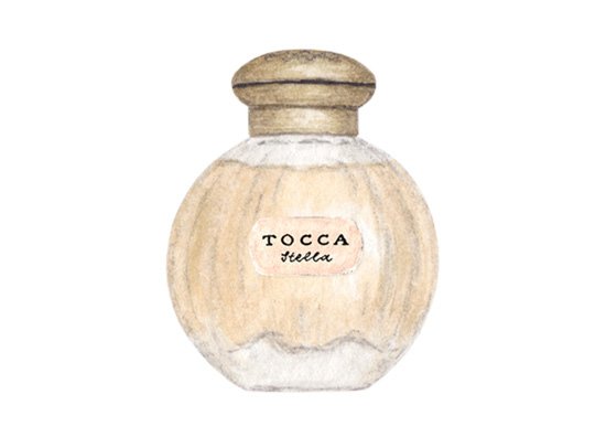 amy zhang creative | tocca perfume illustration | valentine's day gift guide