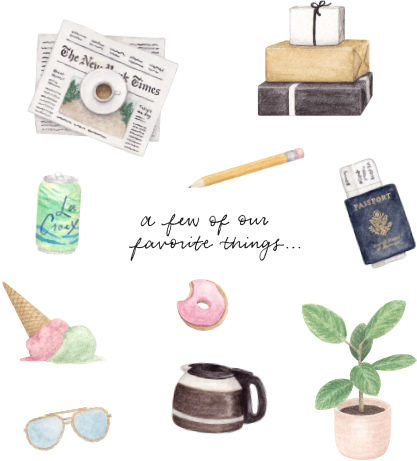 shop amy zhang | favorite things illustration
