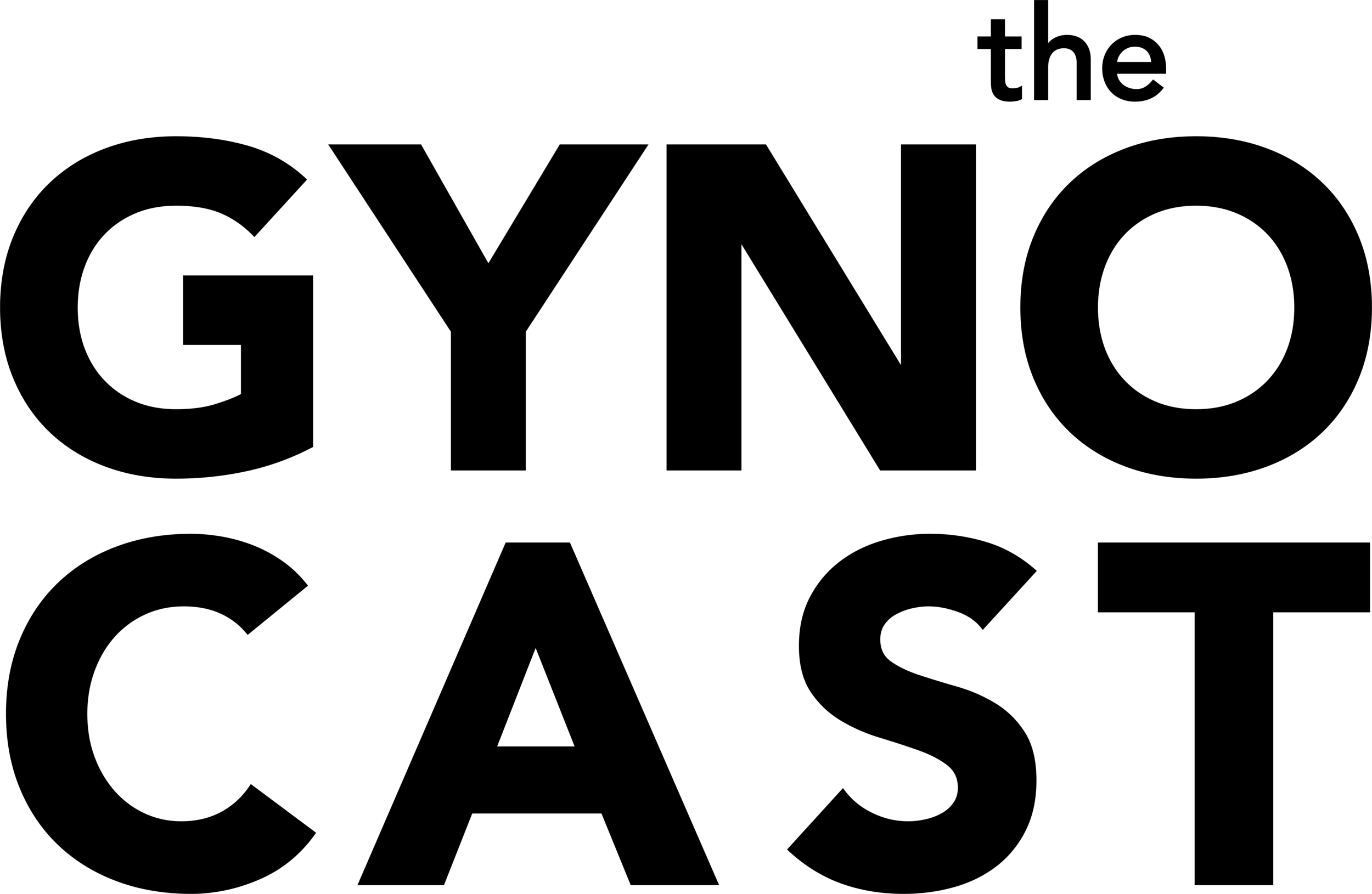 The Gynocast Logo Black.png