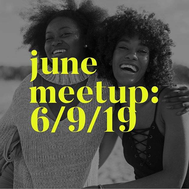 Our next WOMEN IN PODCASTING meetup is Sunday, June 9th 2018. This month it's all about building an audience! Follow the link in our bio for your FREE TICKETS!