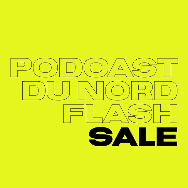Two day flash sale! For the next 48 hours you can register for Podcast do Nord and receive a general admission ticket for $199. Follow the link in the bio and use the promo code: PDNFLASH