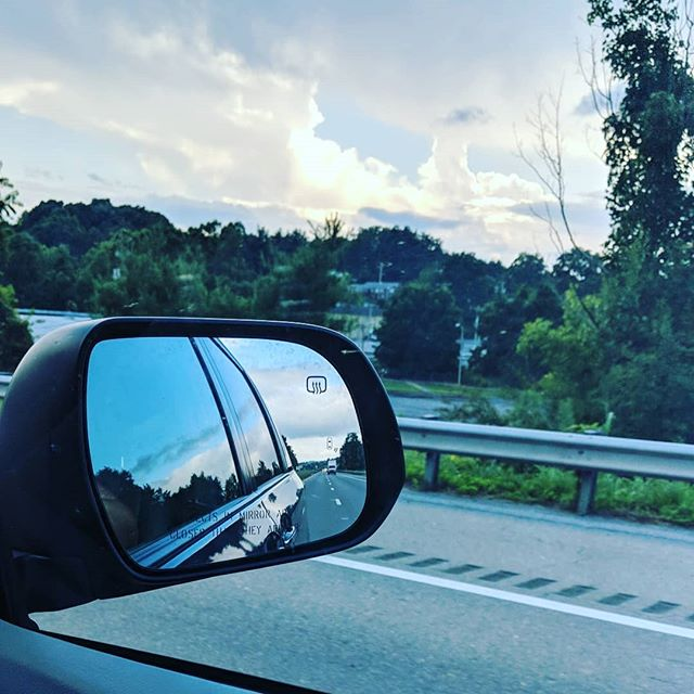 On the way home from our #TheEpicRoadTrip. 🗺️ We've been gone from MN since the end of June and as crazy as sleeping in hotels with three kids has made me, I really liked road tripping. I'm kind of sad it's all over. We saw friends and family we rarely see in person. I got to go back to a place that felt like home (Medford, NJ) and I remembered why I loved going down the shore all the time in high school.  I still like my kids. Still like my husband. I will miss the 2019 @toyotausa Sienna loaned to us but I am ready to go home.  #roadtrip #summervacation #letsgoplaces #TOYOTASIENNA #agirlsguide2cars