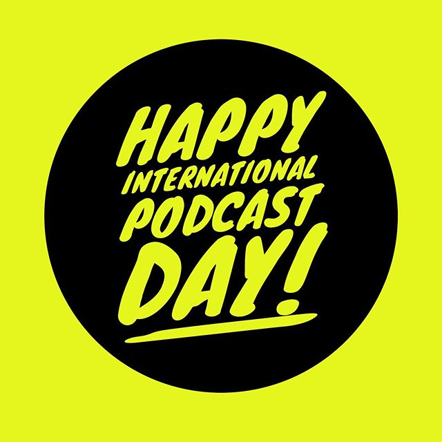 Happy International Podcast Day! Come celebrate with us. Spread the love and tag your favorite female-led podcasts. We'll be sharing some of our favorite podcasting tips in our Instastory today.