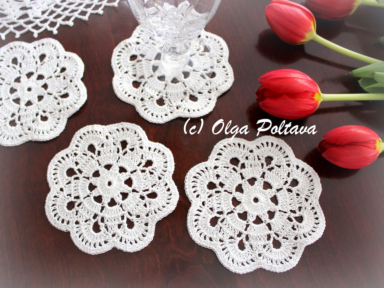 Lace Doily Coaster