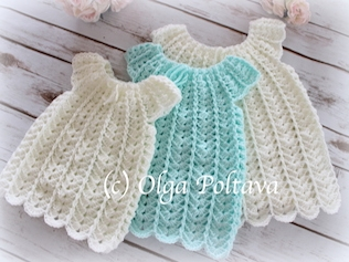 Shells Baby Dress