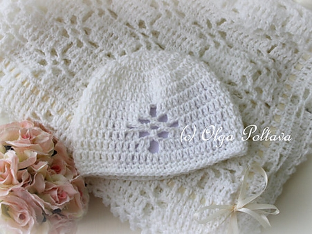 Lace Christening Set
