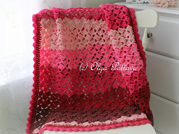 Cherry Chip Afghan