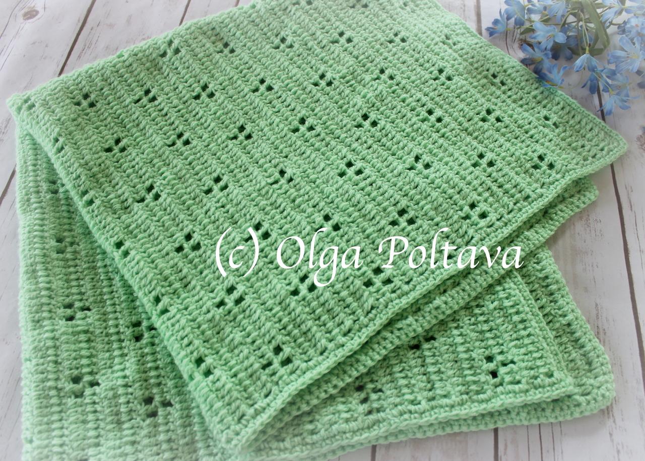 rabbit tracks crochet baby blanket 1.JPG